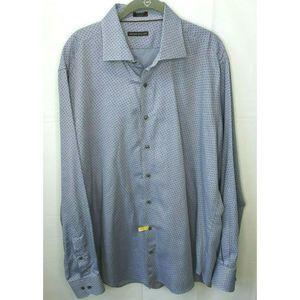 Peter Millar Purple Paisley Button Front Shirt